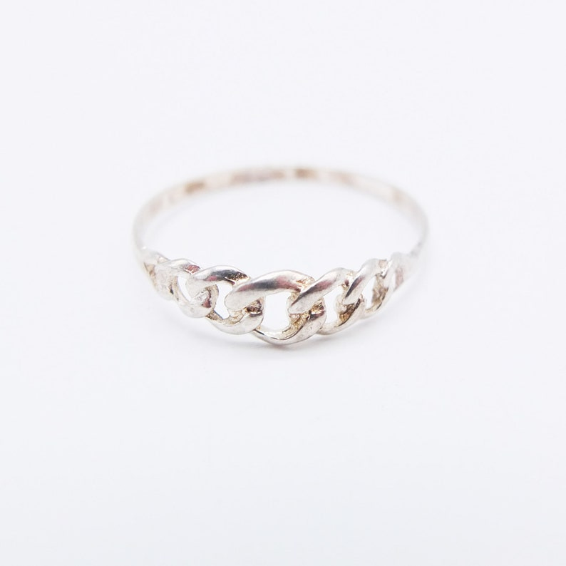 Vintage 925 Pure Sterling Silver Ring  Knot ring from 80s