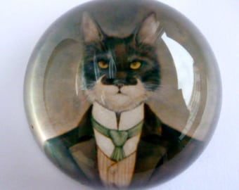 The Victorian Cat Paperweight