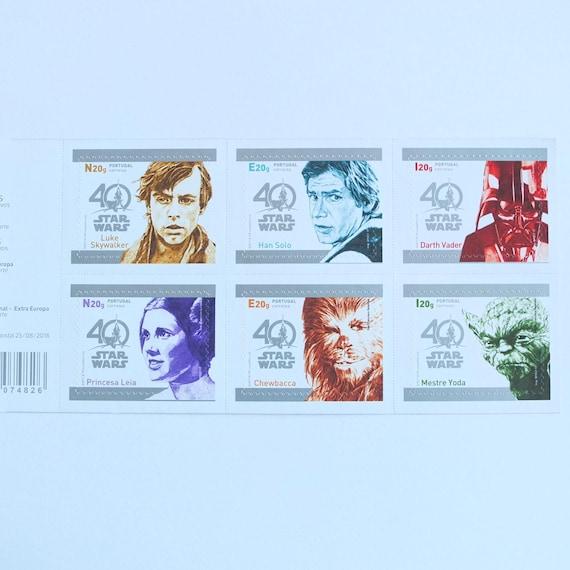 Star Wars Collectors Portuguese Post Stamp 2017