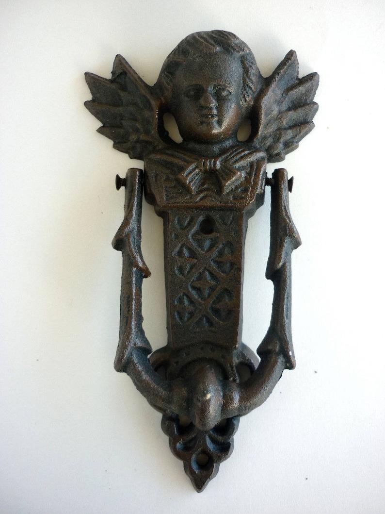 Iron Angel Door Knocker