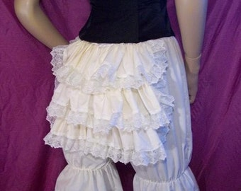 cotton bustle bloomers  (knee length)