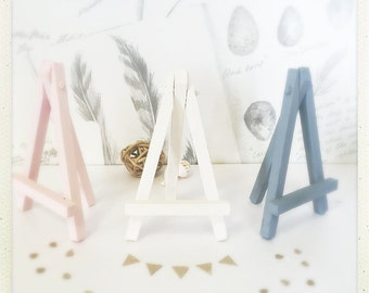Mini Easel Stands - Wedding Table Numbers - Boho Home Decor - Wooden Housewarming Gift - Nursery Decor - Wedding Decor - Place card Holder