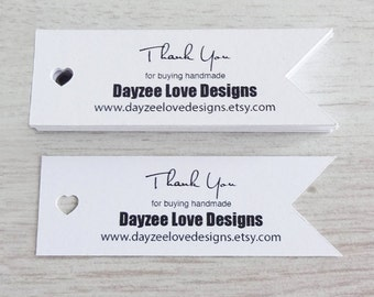 Wedding Favour tags - Heart Flag Tags - Recycled Business Cards - Rustic Save The Date - Eco Friendly - Scrapbooking