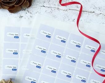 Logo Sticker Pack Custom Sticker Set, Envelope Seal Wrapping Seal, 1 inch stickers Custom Logo Stickers or Custom Bujo Stickers