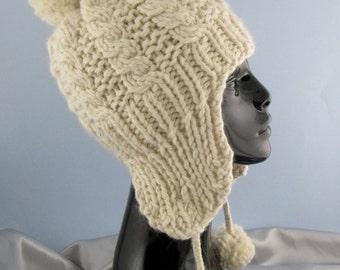 Digital File Pdf Download Knitting Pattern Baby Trapper