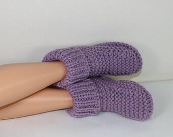 sale 25% off Instant Digital File pdf download Knitting pattern- Rib Cuff Super Chunky Slipper Boots pdf download knitting pattern