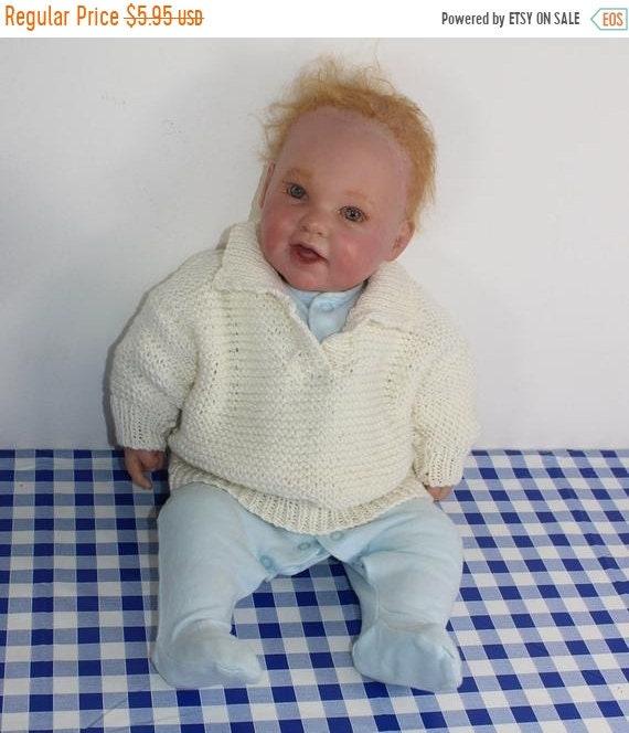 Baby Garter Stitch Sweater immediate pdf download knitting pattern 30/% OFF EVERYTHING madmonkeyknits knitting pattern