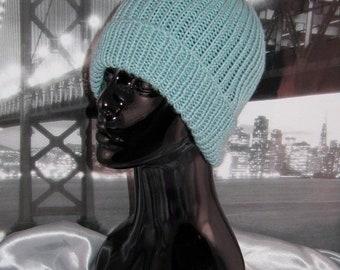 sale 25% off Simple Unisex Ski Beanie CIRCULAR knitting pattern by madmonkeyknits