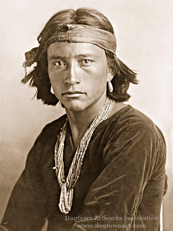 handsome native american men