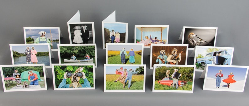 Variety Pack Pick Any 3 or 5 Notecards for a Custom 5 X 7 image 0