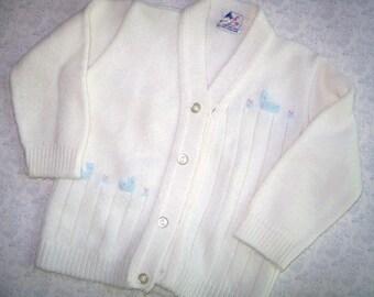 6afdfdee28a2 Bird baby sweater