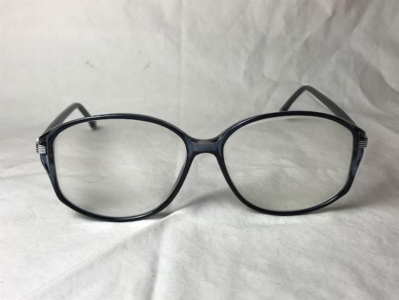 7f39859e783 Wilshire Designs Black Plastic Oversized Square Eyeglasses