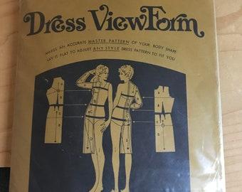 Fantastic Fit Dress View Form Kit - Master Pattern to Adjust Commercial Patterns - The Plastique Fit Craft Method