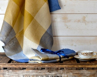 READY TO SHIP -2 Linen towels French country Linen Towels/ shabby chic kitchen /  as seen in Better Homes and Gardens