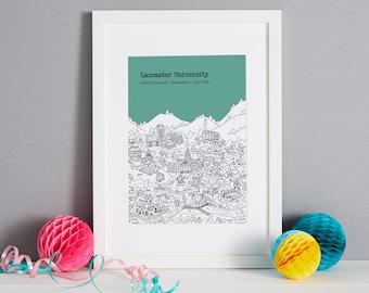 Personalised Lancaster Graduation Gift   Lancaster University Graduation Present   University of Lancaster Graduation Gift   Lancaster Gift