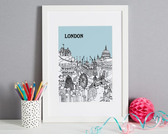 Londres Paris ville place Mariage//Famille Cadeau New York Personnalisé Coussin