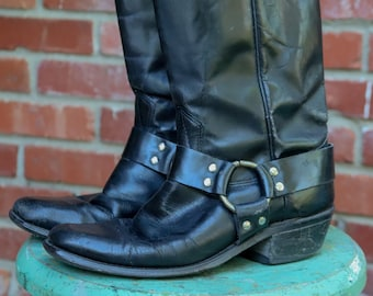 Biker boots | Etsy
