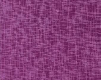 Robert Kaufman Quilter's Linen Print Magenta Fabric by the yard