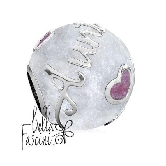 a8702e155 AUNT Family Enamel Bead Charm Authentic BELLA FASCINI® | Etsy