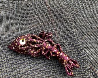 Trout Lapel Pins Mens Lapel Pin Brown Fish Boutonniere Fisherman Gift For Men Husband Dad Fish Pin Kanzashi Brooch Custom