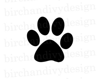 Dog Paw Print Svg Etsy Polish your personal project or design with these husky paw transparent png images, make it even more personalized and more attractive. dog paw print svg etsy