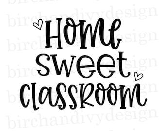 Classroom Svg Etsy