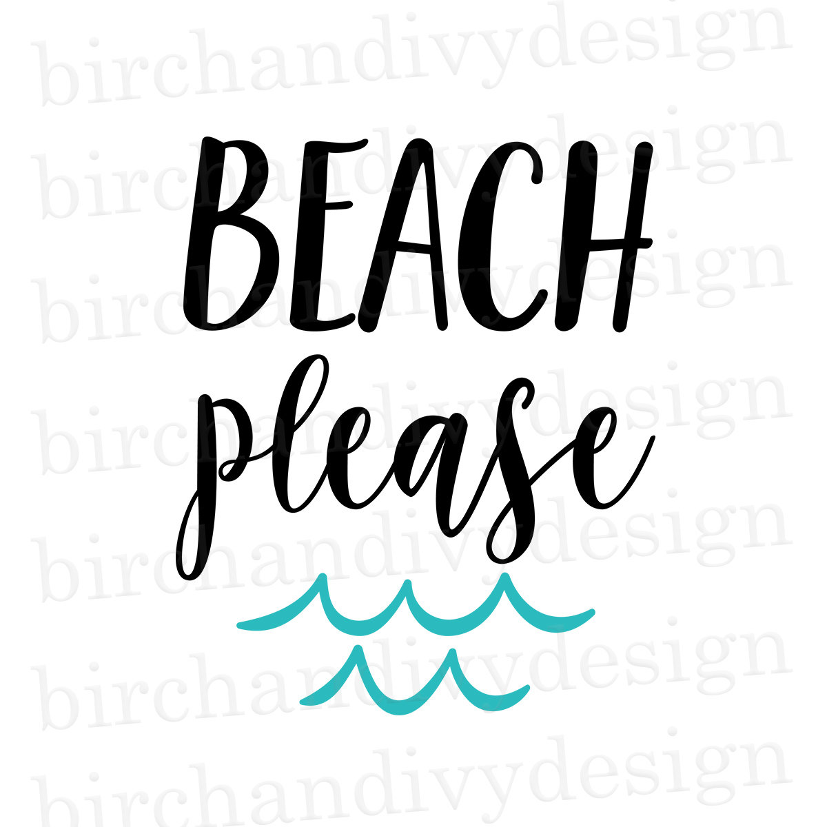 Beach Please Svg File Summer Vacation Tshirt Svg Beach Svg Etsy