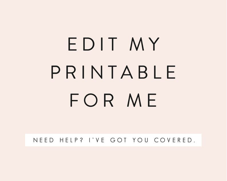 Edit My Printable for Me image 0