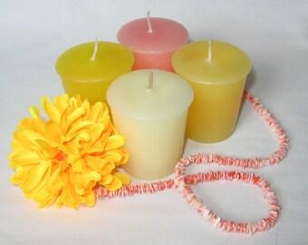 TROPICAL FRUIT SAMPLER (set of 4 votive candles)