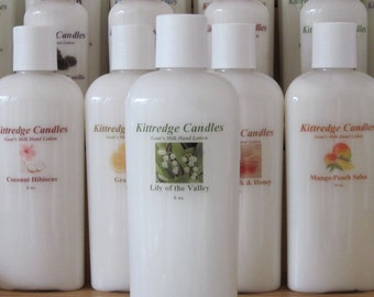 LILY Of THE VALLEY - Natural Goat's Milk Lotion (6 oz)