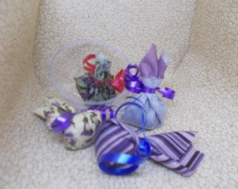 Small Scented Sachets, Fabric sachets, Basket filler Sachets, Drawer Sachets, Car Sachets, Cloth Sachets, Closet Sachets,Fresh Made to Order