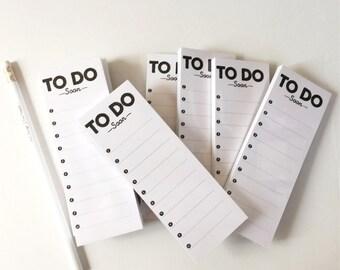 to do soon // mini // notepad // list // notes // skel // skel design // skel & co