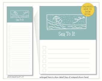 sea to it // notepad  // to do // list // checkbox // lines // skel // skel design // skel & co
