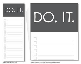 do it // notepad // lines // checkbox // list // to do // slate grey // skel // skel design // skel & co