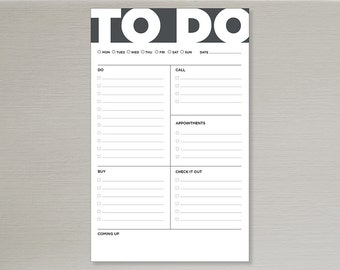 to do // bold // today // notepad // list // notes // skel // skel design // skel & co