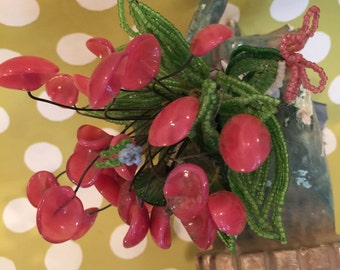 Flower Bouquet...Glass Flowers