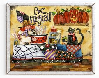 Be Magical Art Print