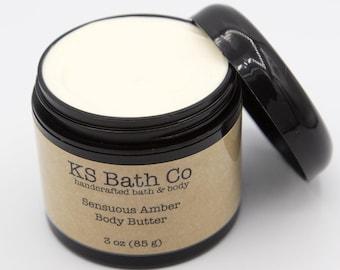 Sensuous Amber Body Butter