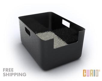 CURIO Litter Liner | Modern Litter Box Liner | Modern Cat Furniture | Designer Cat Litter Pan | FREE SHIPPING