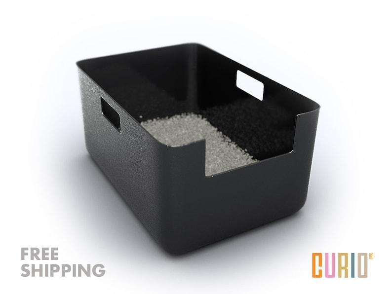 CURIO Litter Liner  Modern Litter Box Liner  Modern Cat image 0
