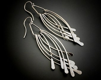 1a3df3962 Sterling Silver Earrings Handmade By Wild Prairie Silver Jewelry Designer  Joy Kruse