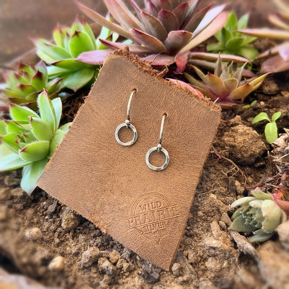 Earrings Handmade Earrings Sterling Silver Earrings Wild Prairie Silver Jewelry Joy Kruse