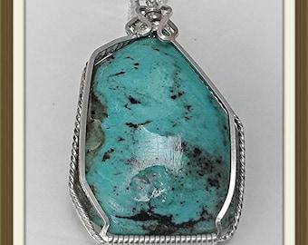 Turquoise Pendant (Large)