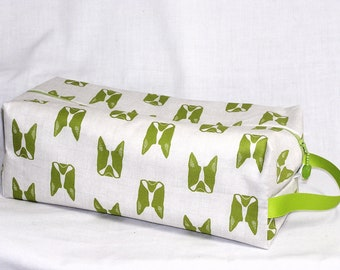 Lime Boston Terriers Sweater Bag