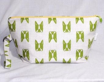 Lime Boston Terriers Beckett Bag