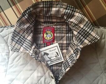Women's Stable Coat / Baker Blanket Quilted Stable Jacket / Buff Beige / Amberhill