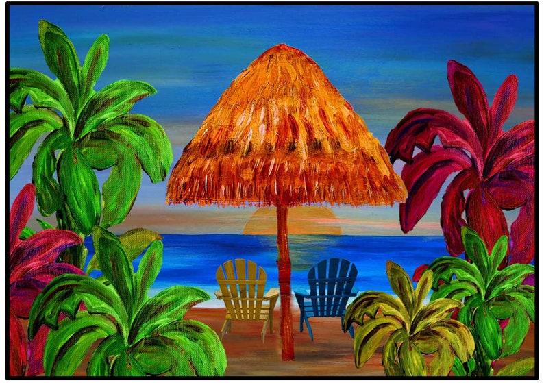 pillows ottoman and door floor mats from my art. Romantic tropical sunset beach coastal home throw blankets