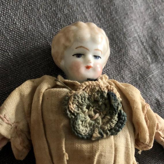 Antique Doll, porcelain,