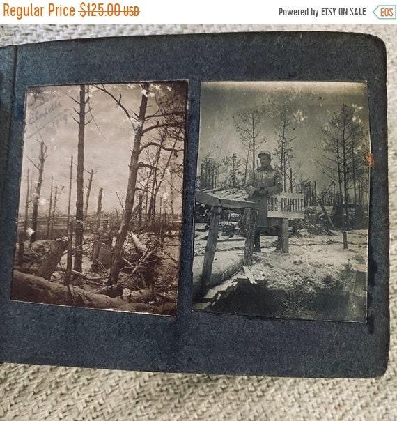 Sale 50% Antique Photo Album 1914-1918