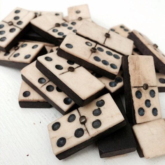 Antique Game pieces